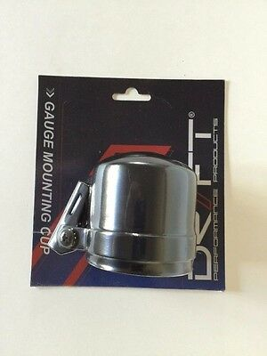 "New Drift Performance Products D1-GC-258 Gauge Mounting Cup Black 2 5/8""  67mm"