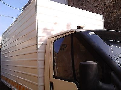 Ford Transit box van extra large b licence Irish plates commercial camper van