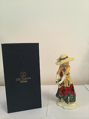 Old Tupton Ware Poppy Girl Susie With Hat, Yellow