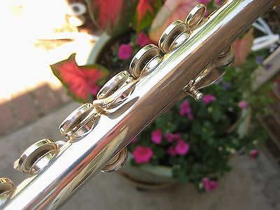 Fully Adjusted Vito Silver Plated Flute 113 Japan  Same Specs as Yamaha 225S