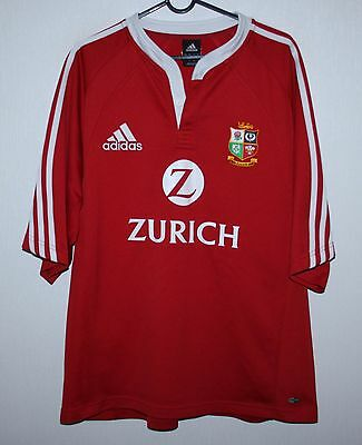 2005 British and Irish Lions tour to New Zealand rugby shirt jersey Adidas - L