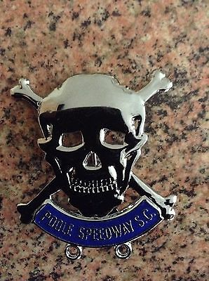 Poole Speedway Badge Silver