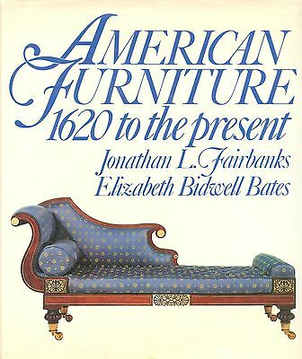 Antique American Furniture 1620-Present - Periods Makers Types Etc / Scarce Book