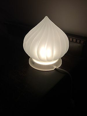 Ikea Frosted Glass LED table Lamp