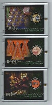 Harry Potter Prisoner Azkaban Prop card Exploding Bon Bons #/96