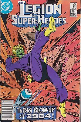 The Legion Of Super-Heroes #311 Dc 1984