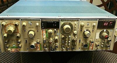 Tektronix TM506 With PG 501, FG501, (2x) AM 503,  FG 501A, TG 501 and PG 506A