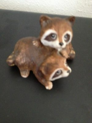 raccoon figurines
