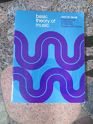 BASIC THEORY OF MUSIC JOHN VERALL Programmed Instruction Intervals Scales Modes