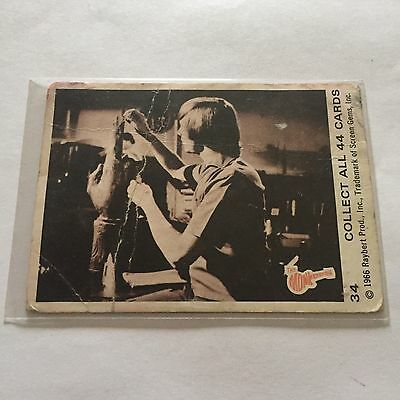 1966 SCANLENS The Monkees Collectible Card #34