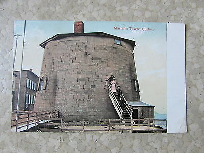 Vintage Quebec Martello Tower Post Card Canada 1908