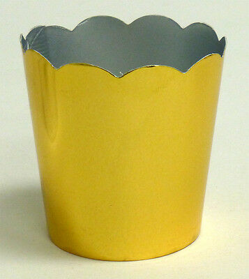 Simply Baked Party Cups - Petite - Metallic Gold