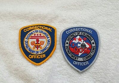District of Columbia DOC Correctional Officer Patch Set