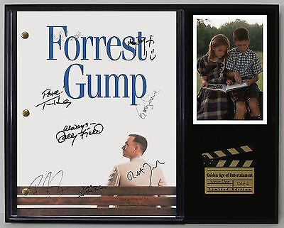 Forrest Gump - Reprinted Autograph Movie Script Display - USA Ships Free