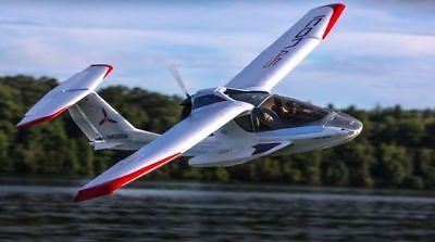 ICON A5 1.3m BNF Basic with AS3X (EFL5850) E-Flite