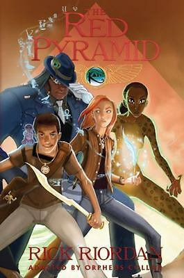 NEW! The Red Pyramid: The Graphic Novel by Rick Riordan Paperback Book (English)