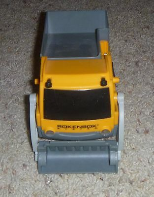 Rokenbok RC Classic Yellow Loader with working headlights