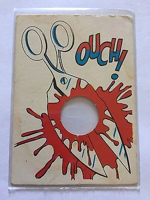 1968 TOPPS Laugh In Punch Out George Schlatter Card #61 OUCH