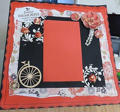 Lovely  Handmade 12 X 12 Scrapbook Page