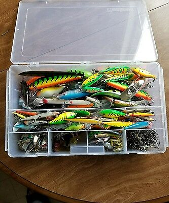 name brand fishing lure lot ***it's a steal***