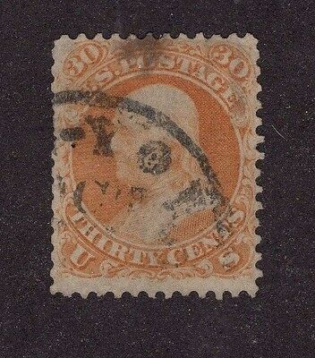 UNITED STATES #71 30c Franklin   1861-1862