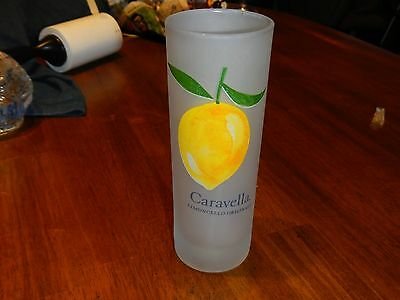 caravella limoncello originale frosted glass new with sticker