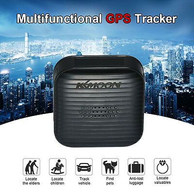 KKmoon Mini Portable Real Time Personal and Vehicle GPS Tracker 2017