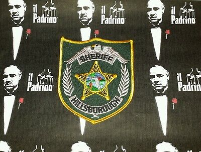 Hillsborough County Florida Sheriff Shoulder Patch