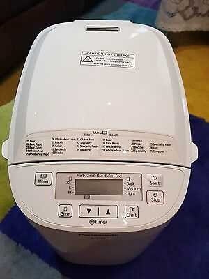 Panasonic SD-2500 Bread Maker