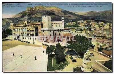 VINTAGE POSTCARD Assembles the Palate of the Prince and the Monument of the 25th
