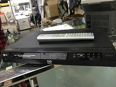 LG RH2T80 DVD /HDD RECORDER (wont read disc, use as HDD recorder only)