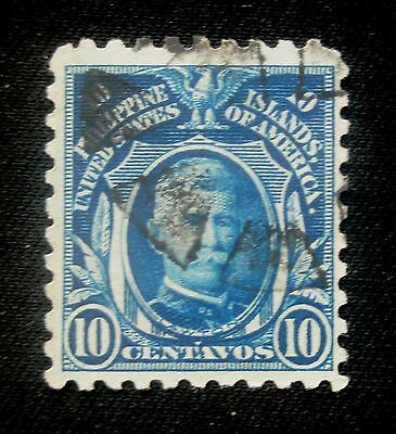 (H140) Philippines American Occupation 1914 Scott 280 used NG