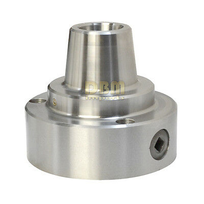 "5C Collet Chuck 5"" Inch Diameter Plain Back for Lathe 6000 RPM"