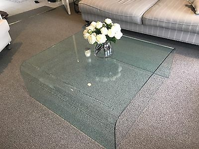 Beautiful Solid Glass Coffee Table