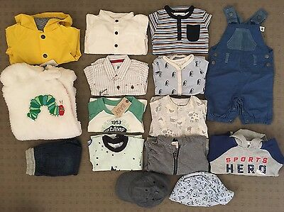 Boys Clothing Bundle (15) 000 - Seed, Country Rd, Bonds, Cotton On