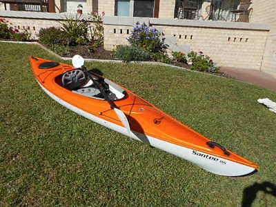 Kayak And Paddle (Used Once Only) - $1500  (New Price $2000)