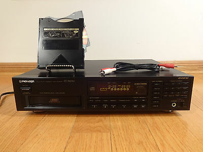 Pioneer PD-M530 6-Disc CD Compact Disc Changer 1990 Japan TESTED 100% Works Nice