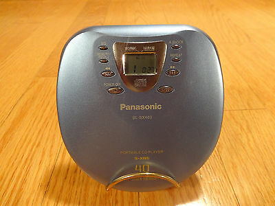 Panasonic SL-SX460 Portable Compact Disc Player Japan TESTED 100% Works Great!