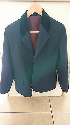 Tagg Equestrian Show Jacket, Navy Blue, Girls Size 32