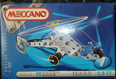 4 x Meccano 1998 Motion System - Models 831512, 831513, 831515 and 831516