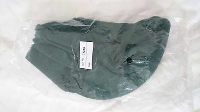 Bitz Riding Hat Cover Silk One Size Green