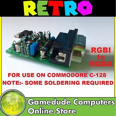 Commodore 128 RGBI to RGBA Adapter by Digital Audio Concepts   [F03]