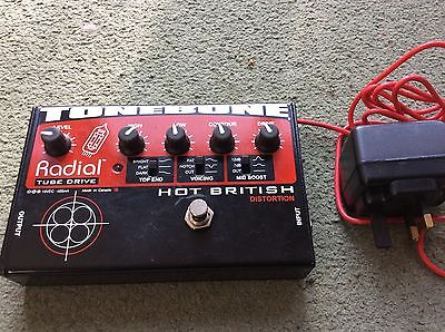 Radial Hot British Valve Tube Drive Distortion Made In Canada