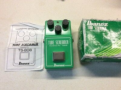Ibanez Tube Screamer TS808 Overdrive Pro