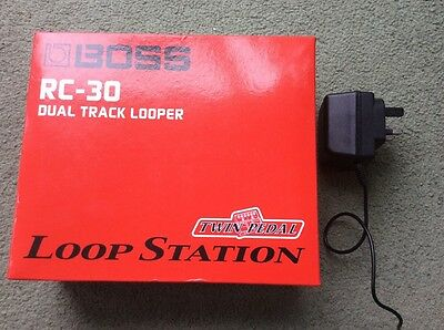 Boss RC-30 Loopstation Looper Boxed Near Mint With Power Supply