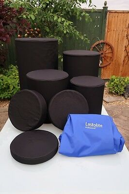 Lastolite Set of 4 Posing Tubs and Cushions with Bag