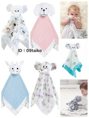 New Aden and Anais Musy Mate Lovey Baby Security Blanket Comforter Toy 4 Choices