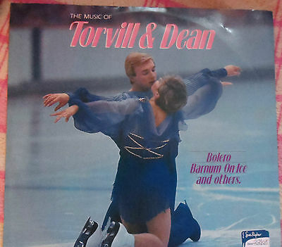 The Music of Torvill and Dean, ravel vinyl record