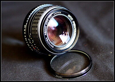 Pentax K 50mm 1.4 Lens. Manual Focus.. Vintage.