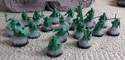Warhammer Lord of the rings middle earth Army of the Dead + King of the dead